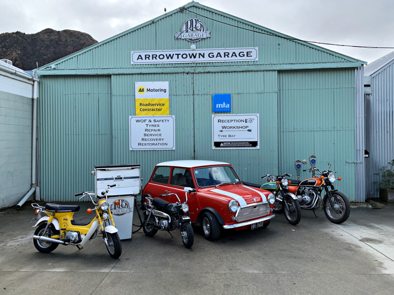 Arrowtown Garage Website Version 2