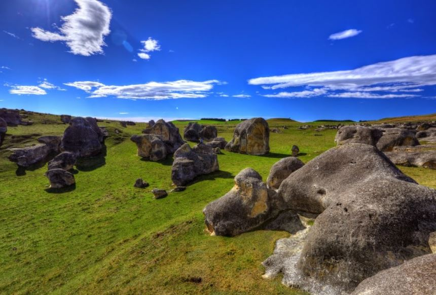 Elephant rock Landscape Rocks Field W