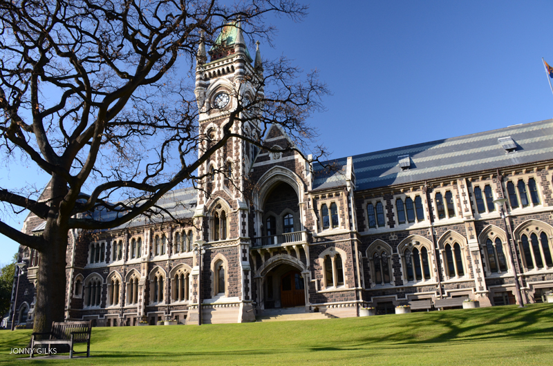 University of Otago Jonny Gilks Website Version 5373